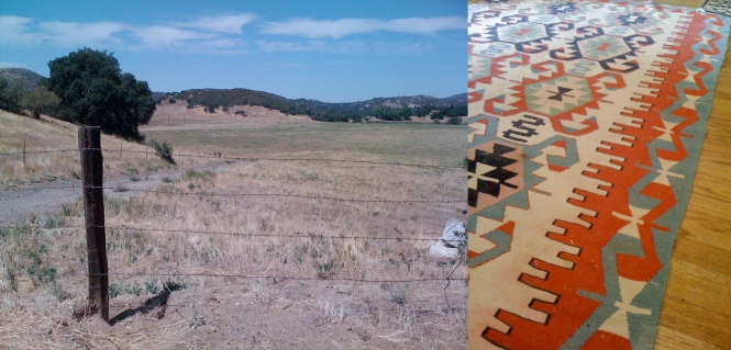 Native American Rug/Rolling Hills Vista