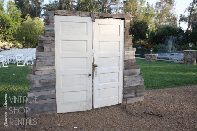 hinged doorway