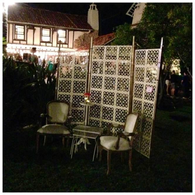 Croquet lounge