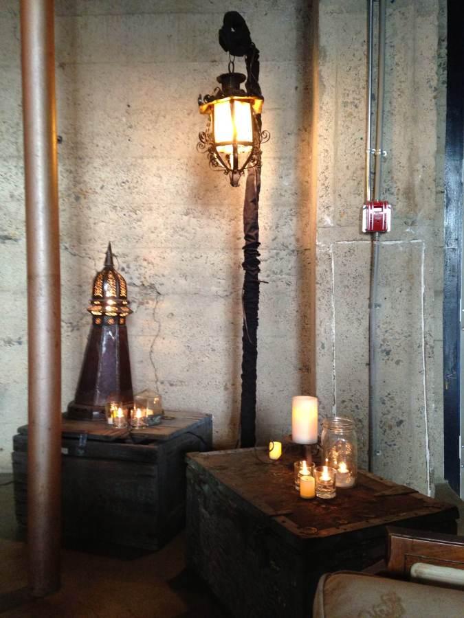 Luce Loft Lighting Detail